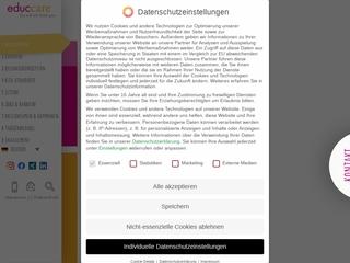 Vorschaubild der Webseite Kindertagesstätte Wasserflöhe