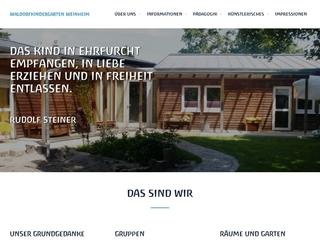 Vorschaubild der Webseite Waldorf-Kindergarten