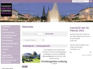 Vorschaubild der Webseite Evangelischer Kindergarten Louise Scheppler