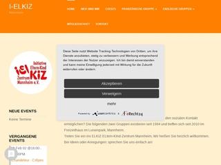 Vorschaubild der Webseite Eltern-Kind-Zentrum Mannheim