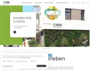Vorschaubild der Webseite Interdisziplinäre Frühförder- und Frühberatungsstelle / Logopädische Praxis am Käthe-Kollwitz-Heim