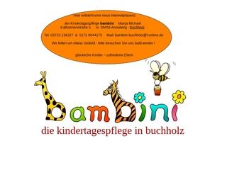 Vorschaubild der Webseite von Bambini Kindertagespflege