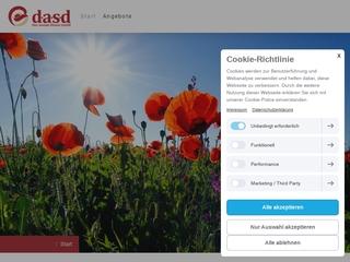 Vorschaubild der Webseite DASD Tagespflege Am Lindenauer Markt