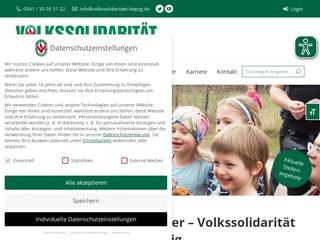 Vorschaubild der Webseite Senioren-Besuchsdienst der Volkssolidarität