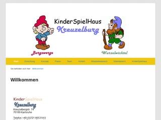 Vorschaubild der Webseite Kita Kreuzelburg