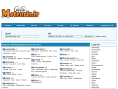 Moteurfr.fr Référencement gratuit sans lien retour