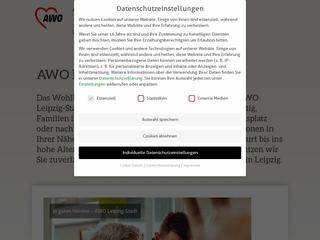 Vorschaubild der Webseite Begegnungsstätte der AWO