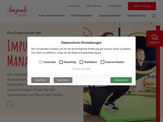 Vorschaubild der Webseite Betriebskindertagesstätte Kinderhaus Lumiland
