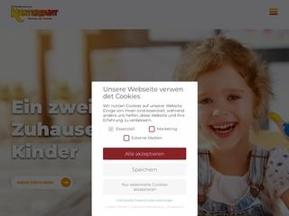 Vorschaubild der Webseite Kindertagesstätte KiKu Apfelbäumchen
