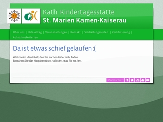 Vorschaubild der Webseite Kath. Kindertagesstätte St. Marien / Kaiserau