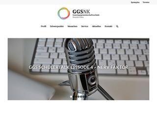 Vorschaubild der Webseite von Gesamtschule Neunkirchen
