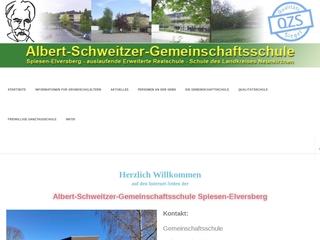Vorschaubild der Webseite von Albert-Schweitzer Gemeinschaftsschule