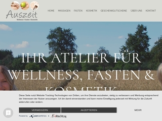 Vorschaubild der Webseite Wellnesstherapeutin Birgit Müller