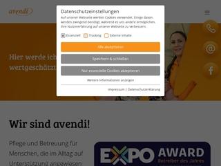 Vorschaubild der Webseite von Pflegeheim �Am Mühlbach