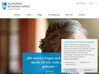 Vorschaubild der Webseite Altenpflegeheim Bethanien