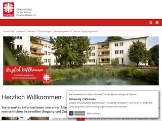 Vorschaubild der Webseite Altenpflegeheim St. Gertrud