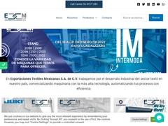 Maquinaria Equipo - ETM Exportaciones Textiles Mexicanas