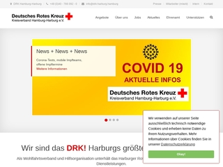 Vorschaubild der Webseite Kindertagesstätte DRK Kinderzentrum Neuenfelde