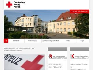Vorschaubild der Webseite Zentrum für Physiotherapie und Gesundheitsförderung am DRK Krankenhaus Chemnitz-Rabenstein