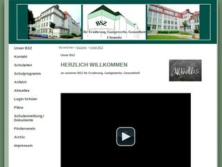 Vorschaubild der Webseite von Berufsschulzentrum für Gastgewerbe, Ernährung, Hauswirtschaft
