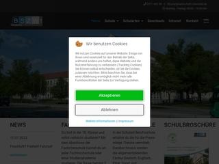 Vorschaubild der Webseite von Berufliches Schulzentrum für Wirtschaft I