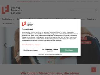 Vorschaubild der Webseite von Berufsfachschule für Logopädie