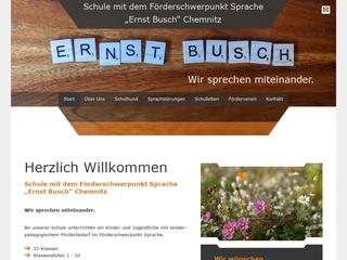 Vorschaubild der Webseite von Sprachheilschule Ernst Busch