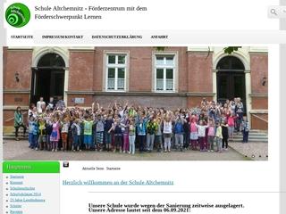 Vorschaubild der Webseite von Schule zur Lernförderung - Schule Altchemnitz