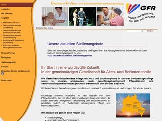 Vorschaubild der Webseite von Ambulanter Pflegedienst Lichtenberg