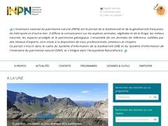 Inventaire National du Patrimoine Naturel