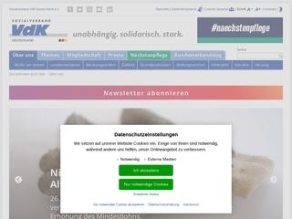 Vorschaubild der Webseite Behindertenfahrdienst Firma Reha Trans