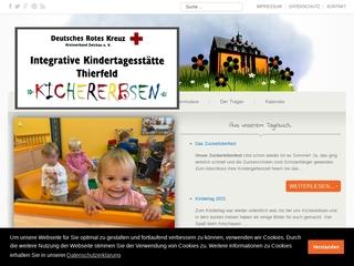 Vorschaubild der Webseite Kindertagesstätte Thierfelder Kindergarten