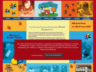 Vorschaubild der Webseite Kindertagesstätte Altstädter Kinderland e.V.