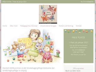 Vorschaubild der Webseite von Kindertagespflege Annetts Schmetterlinge