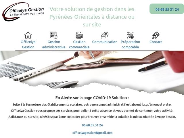 ESPIRA DE L'AGLY - OFFICELYA GESTION secrétaire indépendante