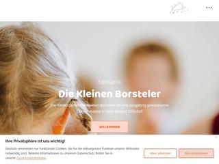 Vorschaubild der Webseite Kindergarten Die kleinen Borsteler