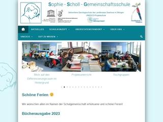 Vorschaubild der Webseite von Integrierte Gesamtschule Dillingen
