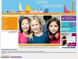 Vorschaubild der Webseite von Evangelische Schule Berlin Mitte