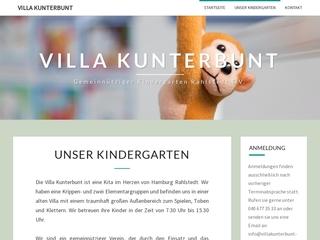 Vorschaubild der Webseite Kindergarten Buchwaldstraße Villa Kunterbunt