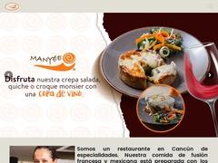Restaurante Comida Internacional - Manyée Cancún