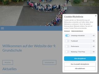 Vorschaubild der Webseite 9. Grundschule