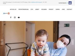 Vorschaubild der Webseite Interdisziplinäre Frühförder- und Frühberatungsstelle Lebenshilfe e. V.