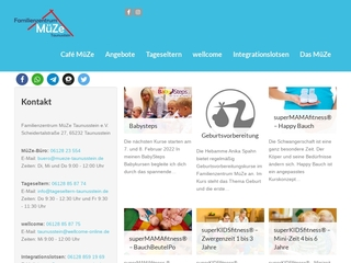 Vorschaubild der Webseite Mütterzentrum Taunusstein