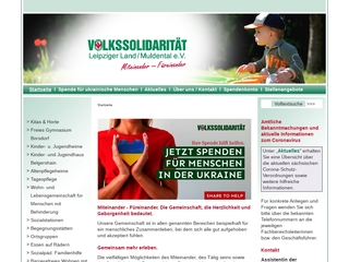 Vorschaubild der Webseite Kindertagesstätte Regenbogen am Muldenufer