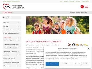 Vorschaubild der Webseite Integrative Kindertagesstätte Kleine Sackhupper
