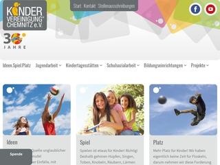 Vorschaubild der Webseite von Kinderklub Känguruh