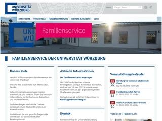 Vorschaubild der Webseite Campus Kinderhaus am Hubland