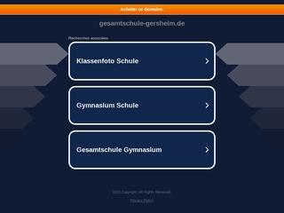 Vorschaubild der Webseite von Gesamtschule Gersheim