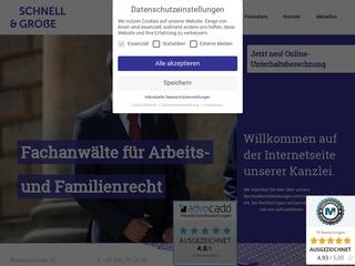 Vorschaubild der Webseite von Hubert Große Rechtsanwalt