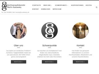 Vorschaubild der Webseite von M.Radowsky, S.Nowack und Dr.H.Steinführer